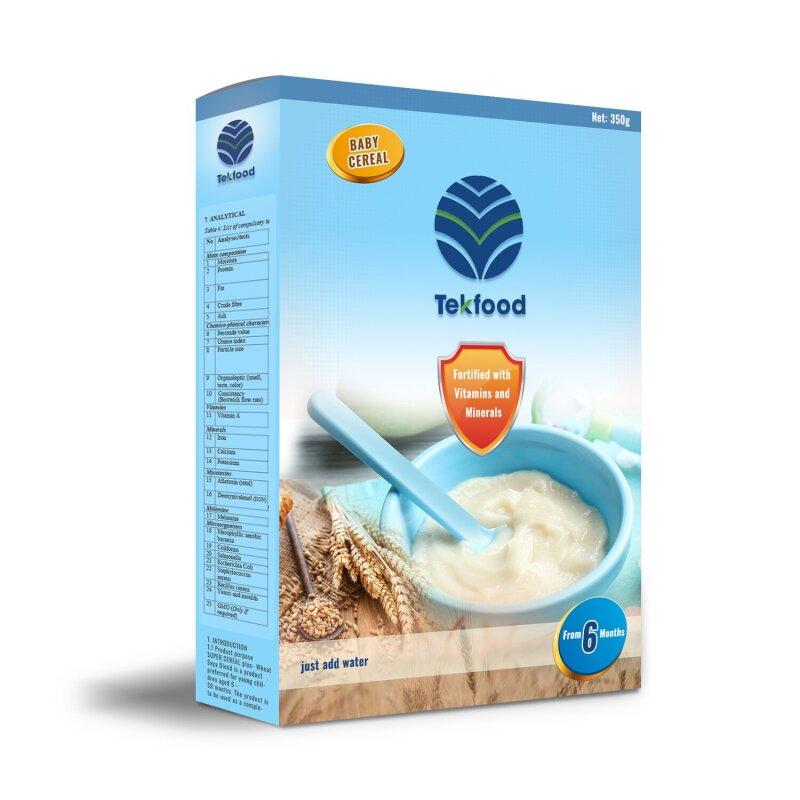 TEKFOOD Bebek Maması (Pirinç-Soya Karışımı)
